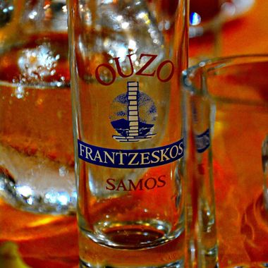 The Samos Ouzo Glass.