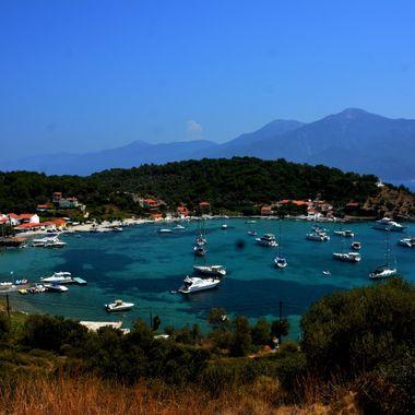 On the beautiful Greek Island of Samos.