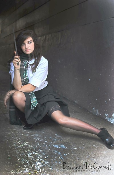 Harry Potter Themed Cosplay (Slyrherin House)
