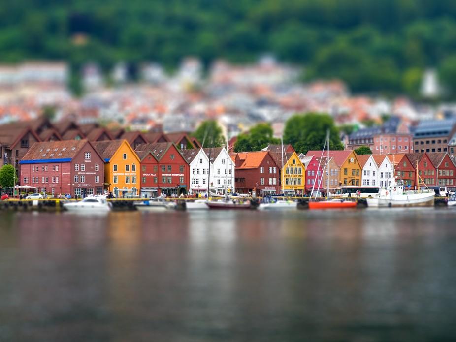 Tiltshift - The Bryggen - Bergen Norway