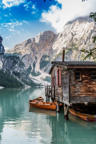 A place for rest and peace, Dolomites