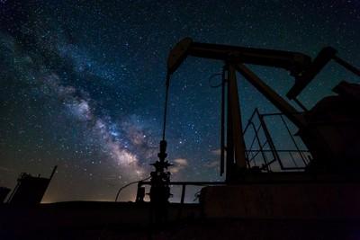 Pump Jack Milky Way