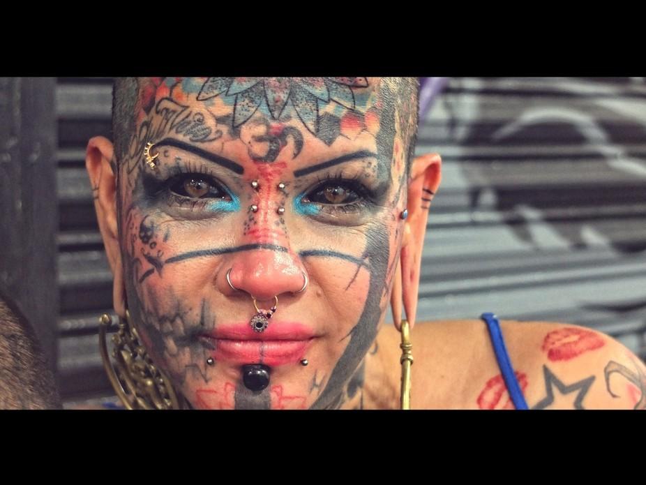 Tattoo artist in Monterrey Mexico