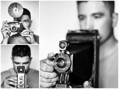 Vintage Selfies