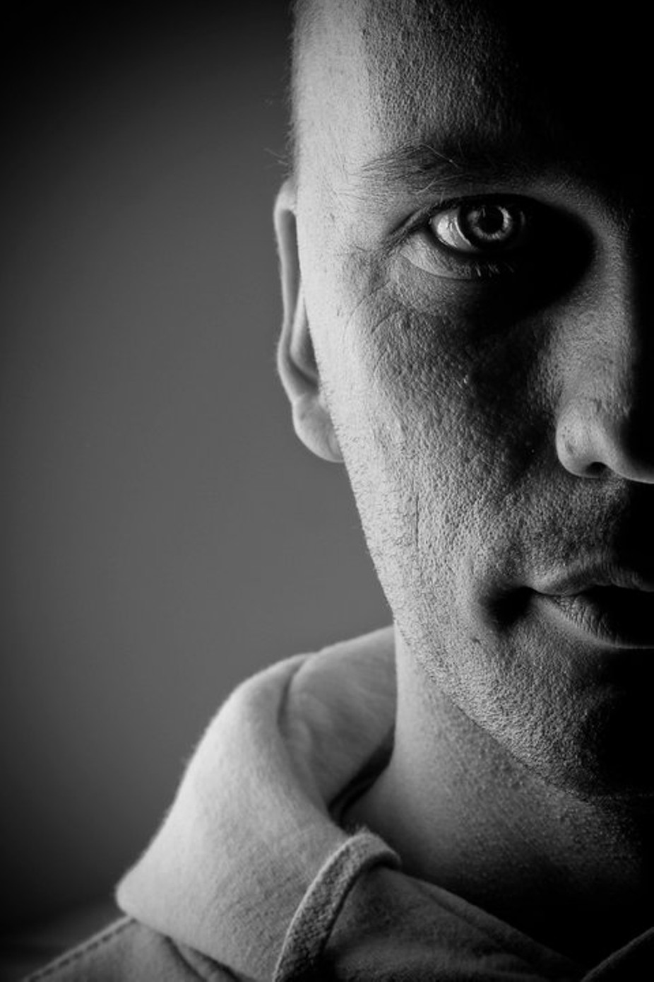 Me by photobynorb - Selfies In Black and White Photo Contest