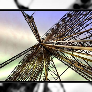 The big wheel at Libori Fair 2017.
