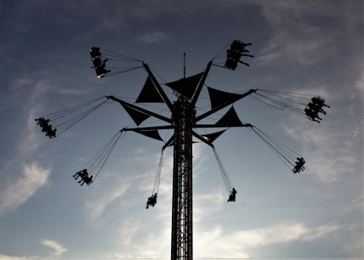 Swinging to the sky