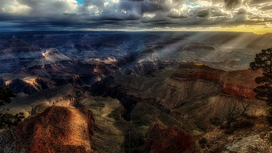 Golden Hour over Grand Canyon