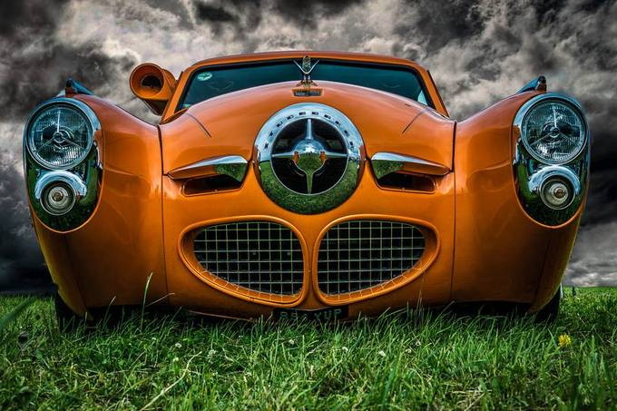 Orange Car by philmunyard - Awesome Cars Photo Contest