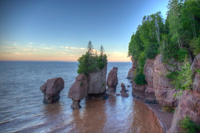 Hopewell rocks