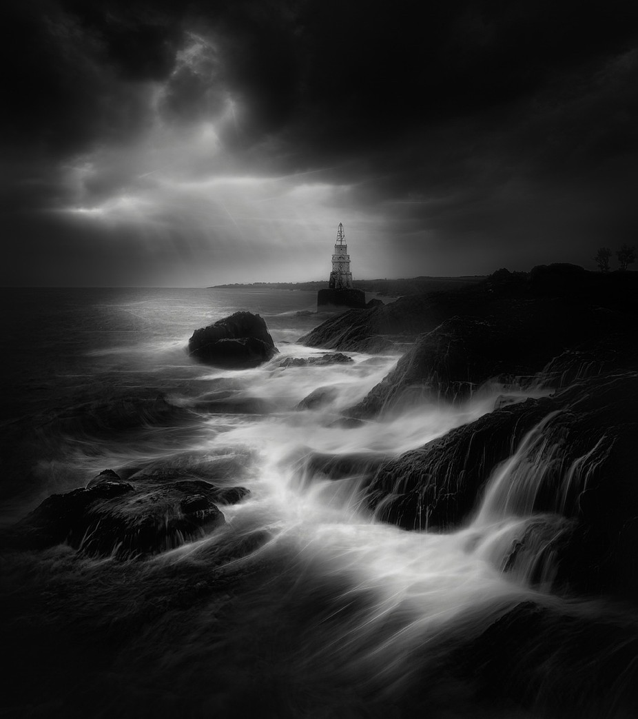 Beacon by swqaz - The Water In Black And White Photo Contest