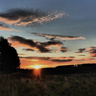 Sunrise at Grigorhill Road, Nairn 06/09/17