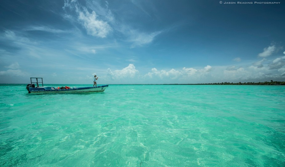 Shot while on a day trip tour of the Sian Kaan Biosphere Reserve in Yucatan, Mexico.