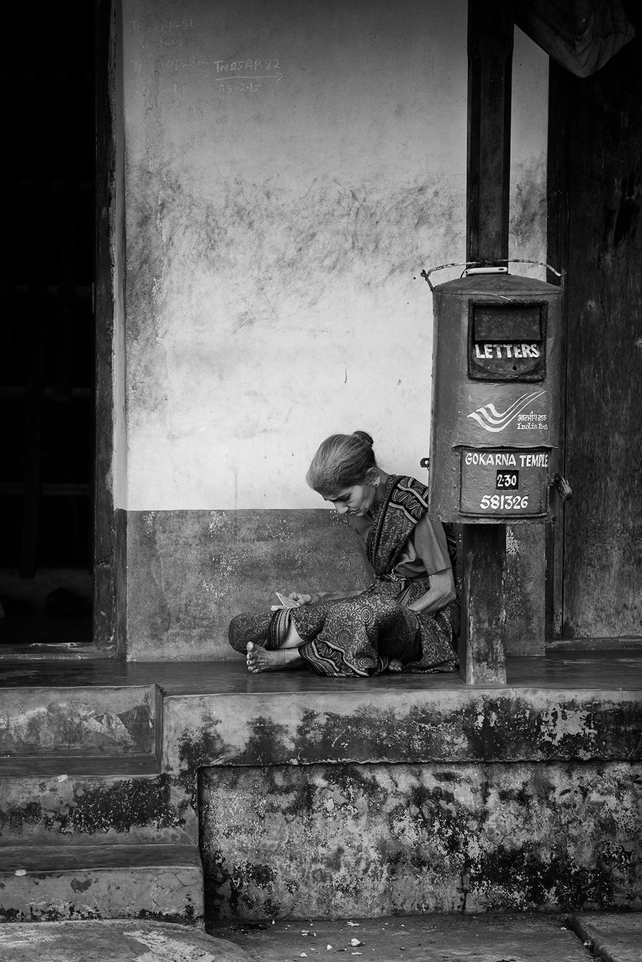 Letters by vladimirchuyko - City Life In Black And White Photo Contest
