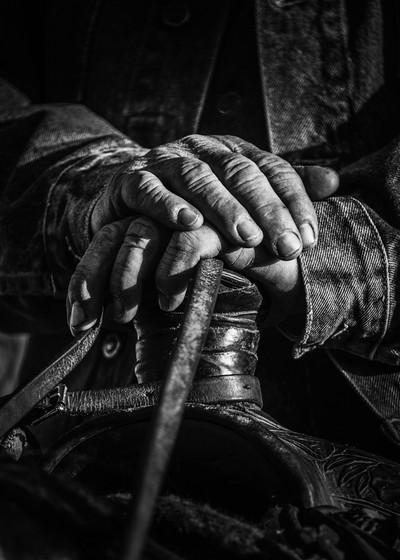 Cowboy hands