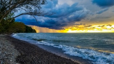 Storm on Lake Erie