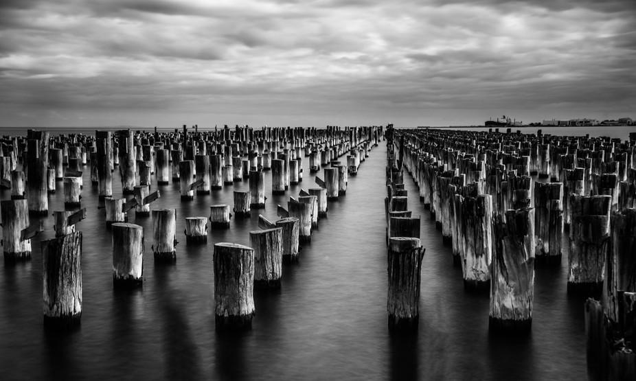 Princes Pier Melbourne Australia.