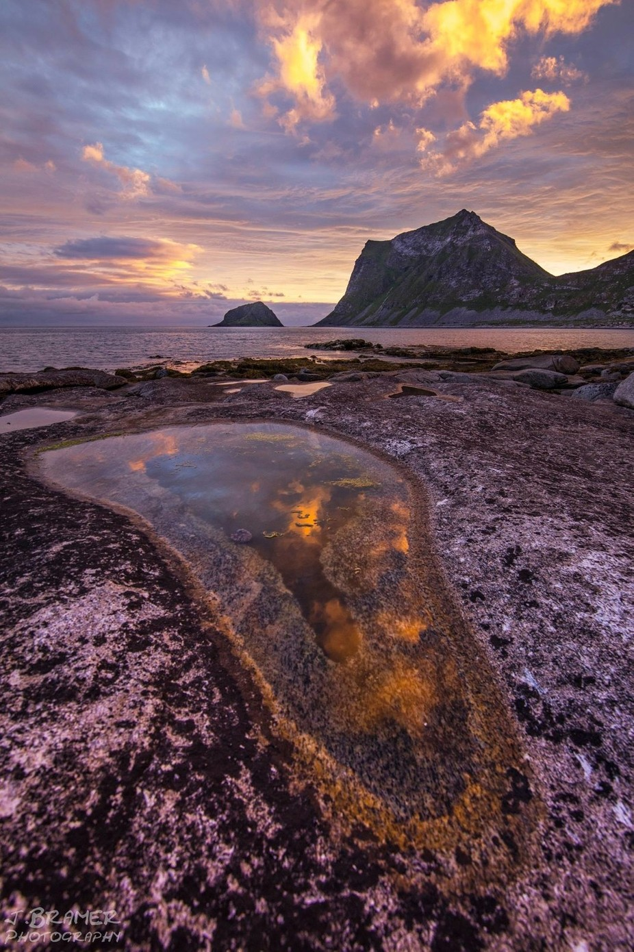 Magical Midnightsun - Lofoten by JBramerPhotography - Monthly Pro Vol 35 Photo Contest
