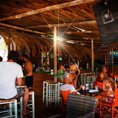 Livadaki Beach Bar on the Island of Samos.