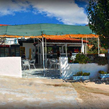 At Psilli Ammos, on Samos Island.