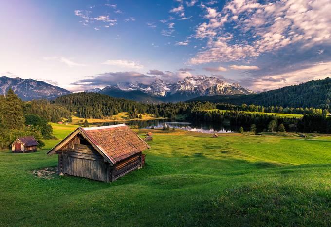 Hut over Gerold by alex_artes - Social Exposure Photo Contest Vol 11