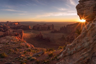 Sunrise at Hunt's Mesa