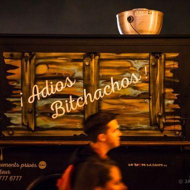 Adios Bitchachos - Mi Corazon FoodTruck