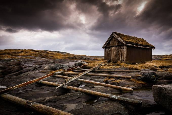 Old Boat hut  by MarcClack - Image Of The Month Photo Contest Vol 26