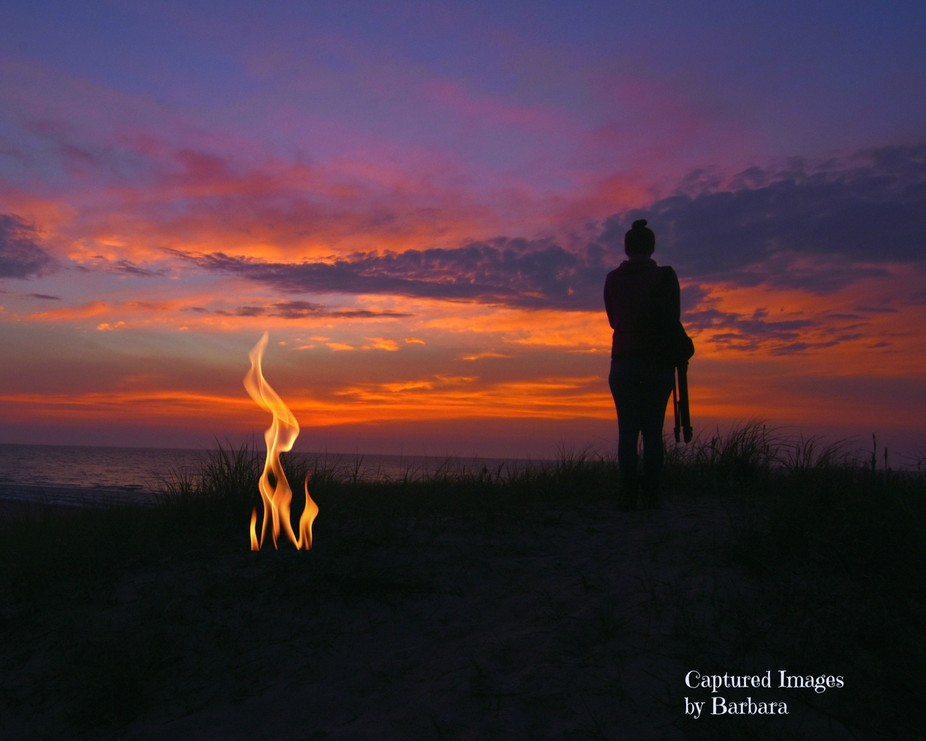 This photo was taken during a sunrise photo shoot with a group of friends at Ft Monroe, Hampton,VA