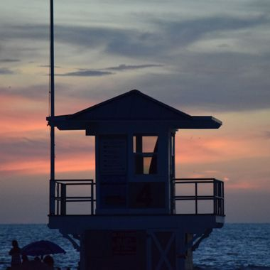Lifeguard Station at Sundown Clearwater