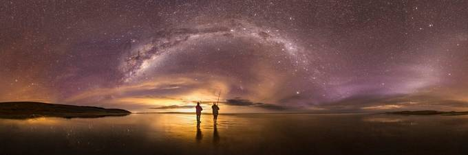 StarFishing (AucklandCityLight) by chrispegman - People And Water Photo Contest 2017