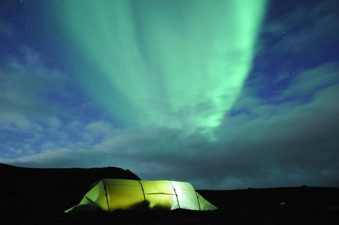 Northern lights, Finnmark by ingvildmelkersen - Outdoor Camping Photo Contest