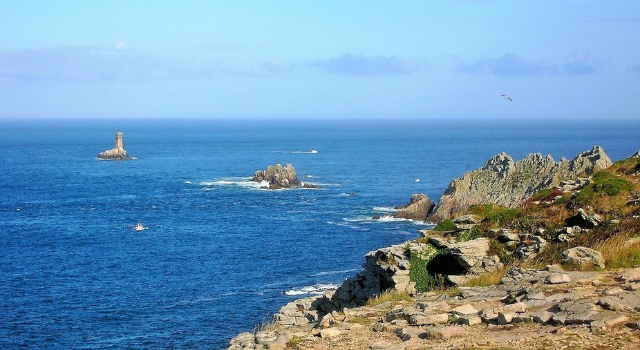 the most western point of Brittany, France