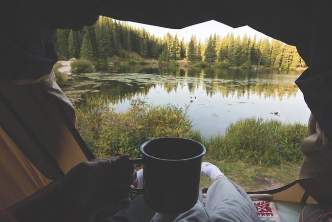 Morning Coffee by Ayersphotography - Outdoor Camping Photo Contest