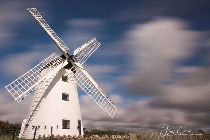 Llynnon Wind Mill, Anglesey by jasoncervi - Windmills Photo Contest