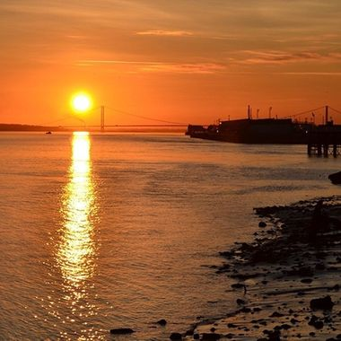 Img. 086/Humber Bridge Sunset copy