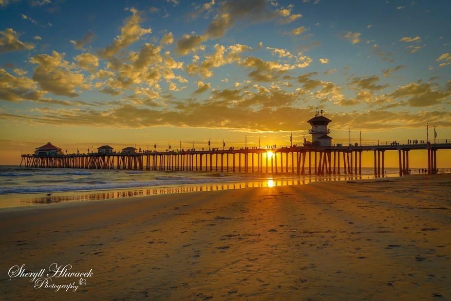 Huntington Beach CA Pier