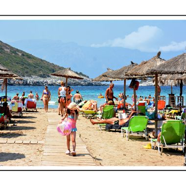 One of the best beaches on Samos Island.