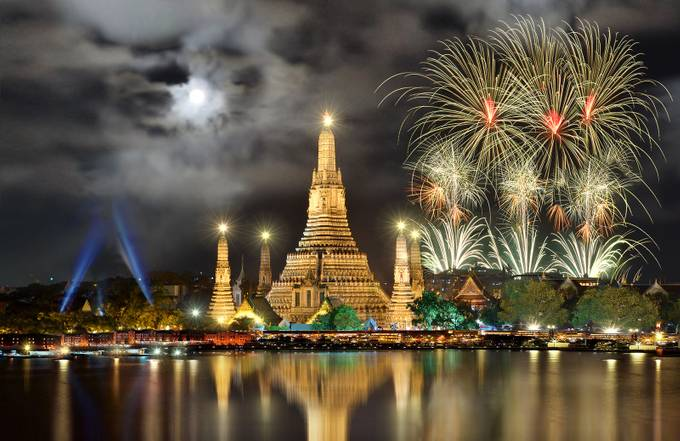 BKK Celebration by joecas - My Favorite City Photo Contest