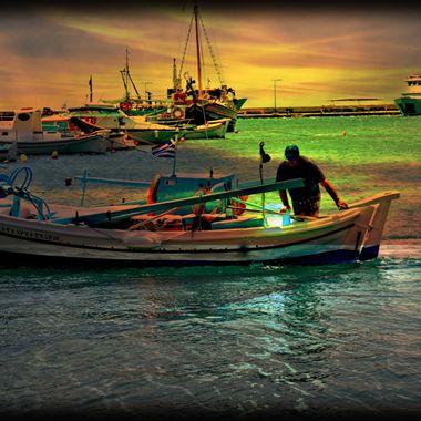 Photo from Pythagorio bay.