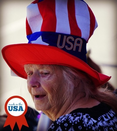 Patriotic Hat Made In The USA