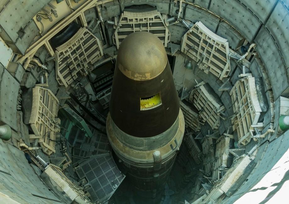 titan II missile in silo