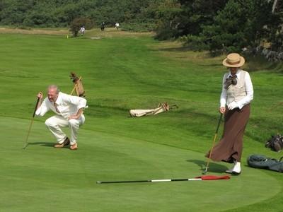 Golf course,Sweden.