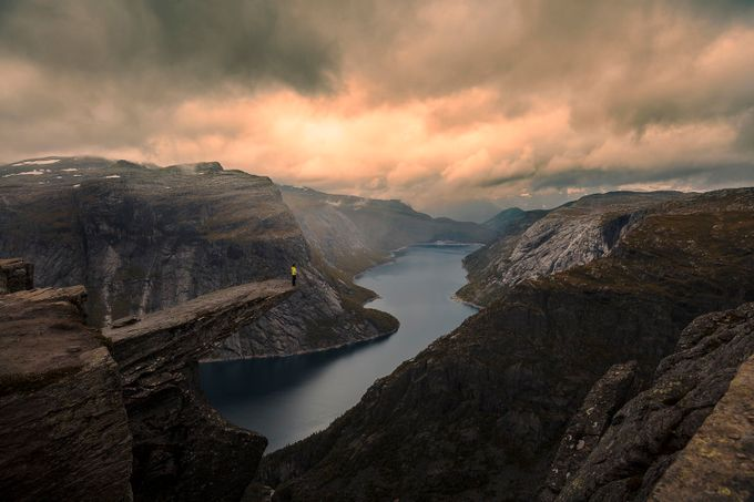 Trolltunga by paaluglefisklund - Spectacular Cliffs Photo Contest