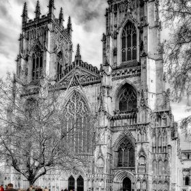 York Minster, popular as ever.