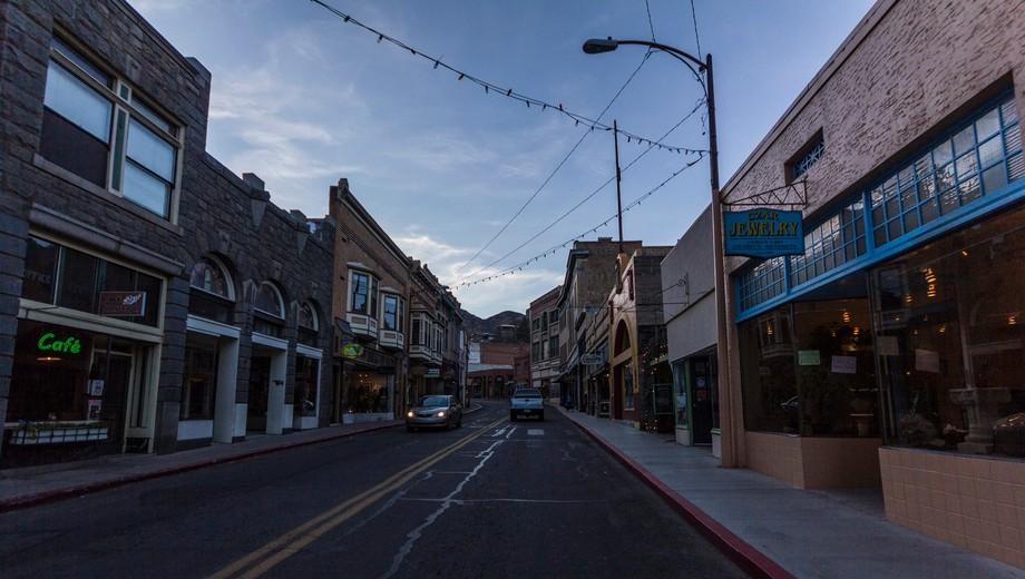 Bisbee's main drag (Arizona)