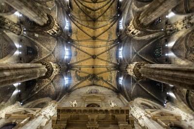 Ceiling of Milan's Duomo