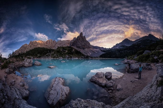 Dragons Pool by CmoonView - Fish Eye And Wide Angle Photo Contest