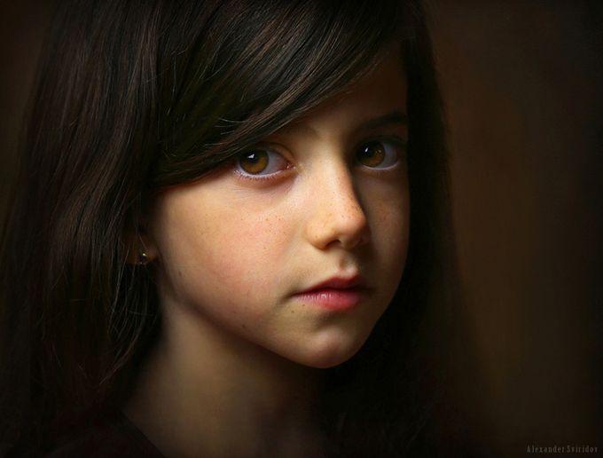 Iris by Alexander_Sviridov - Her In The Studio Photo Contest