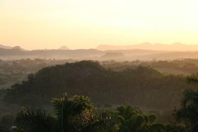 Sunrise at Viñales